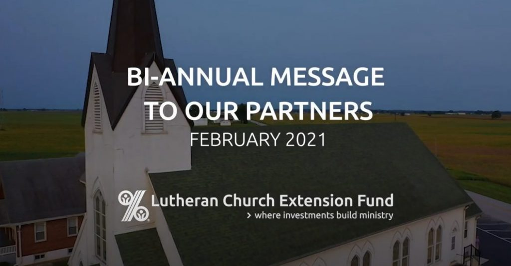 LCEF's bi-annual message to our partners.